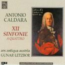 12 Sinfonie a quattro für Streicher & Bc