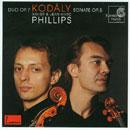 Kodály, Zoltán: Duo Op.7, Sonate Op.8