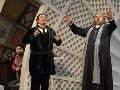 Fabio Maria Capitanucci (Figaro), Michael Eder (Bartolo), Roberto Scandiuzzi (Basilio)